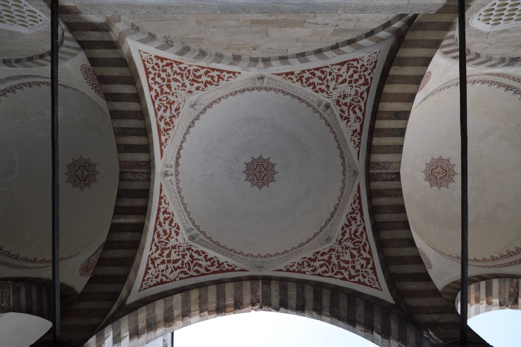 Octagonal Vault. Sultan Ahmed Mosque Istanbul
