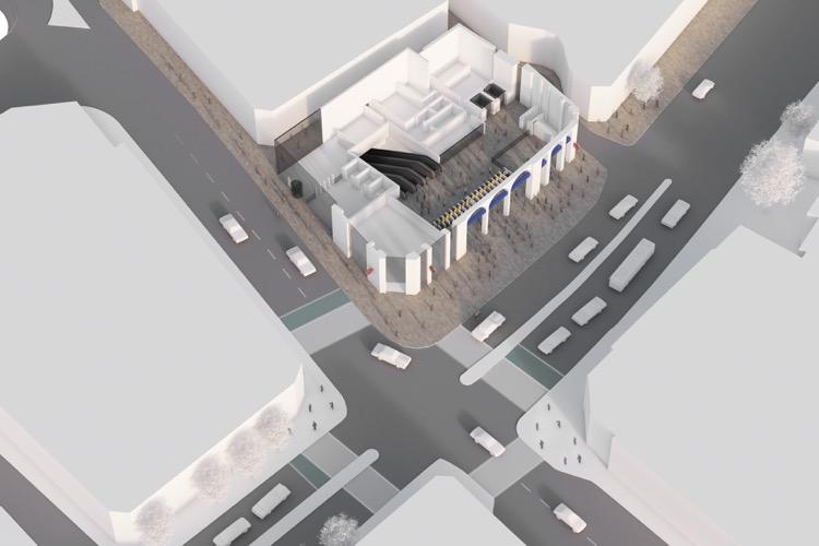 Holborn Tickect Office Visualisation
